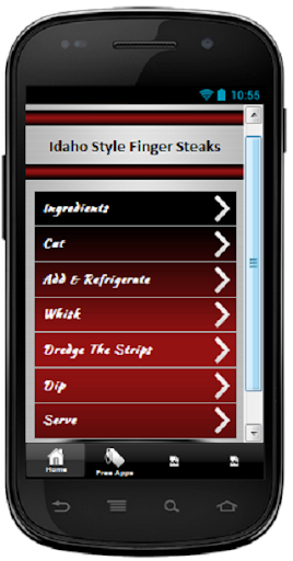 Idaho Style Finger Steaks