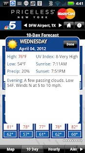 DFW Weather - screenshot thumbnail
