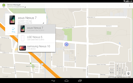 Android Device Manager Screenshot 10