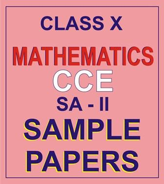 CBSE S.PAPERS MATH-10 SA-2 P-1