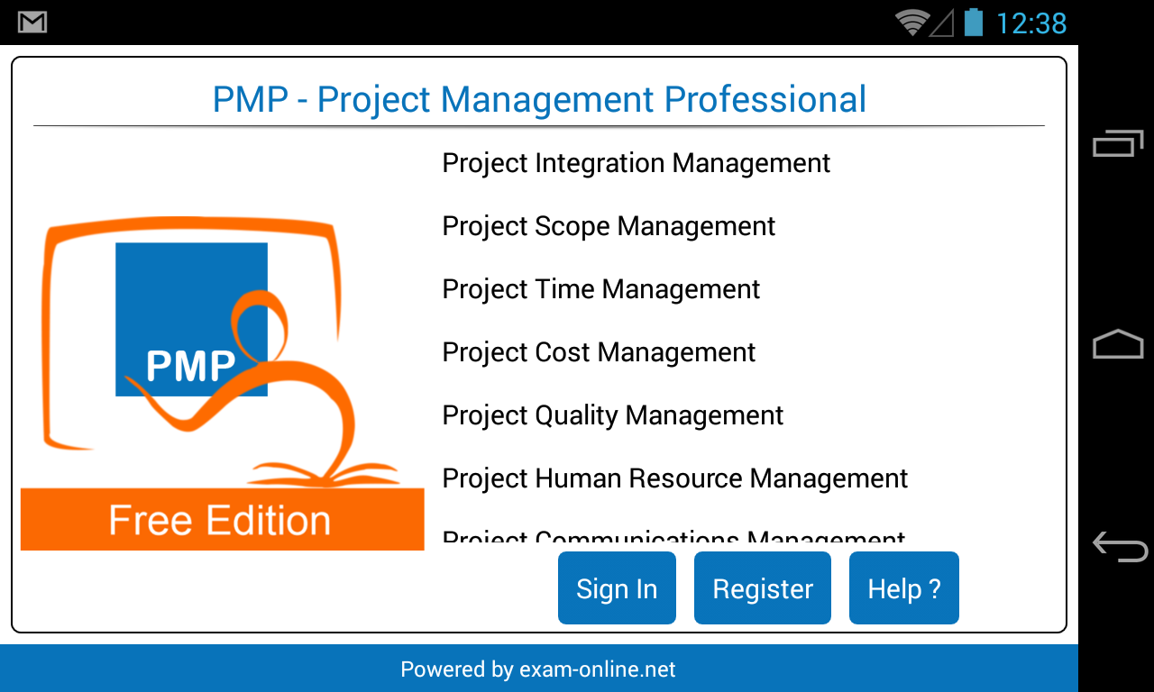 Pmp exam online free android apps on google play pmp exam online free screenshot 1betcityfo Images