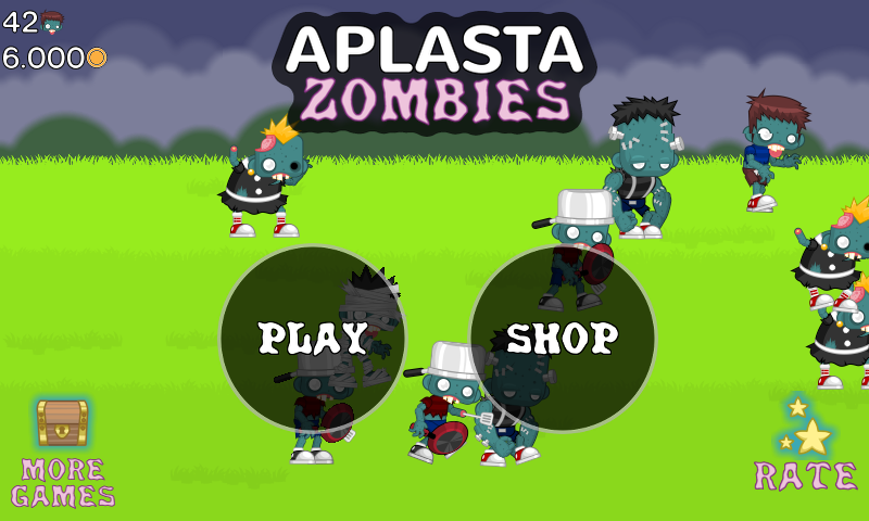 Aplasta Zombies- screenshot