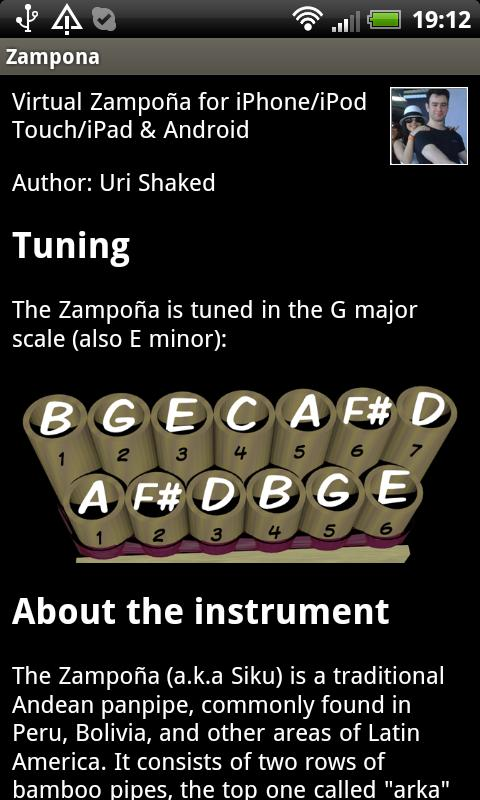 Zampoña- screenshot