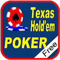 PlayTexas Hold'em Poker Free logo