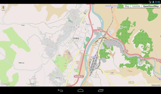 Maps of Bosnia and Herzegovina - screenshot thumbnail