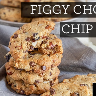Figgy Chocolate Chip Cookies (egg-free)