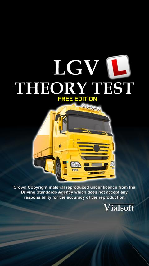 LGV Theory Test UK Free - screenshot