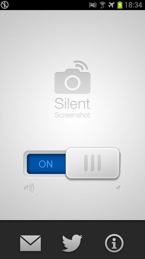 Silent Screenshot - screenshot
