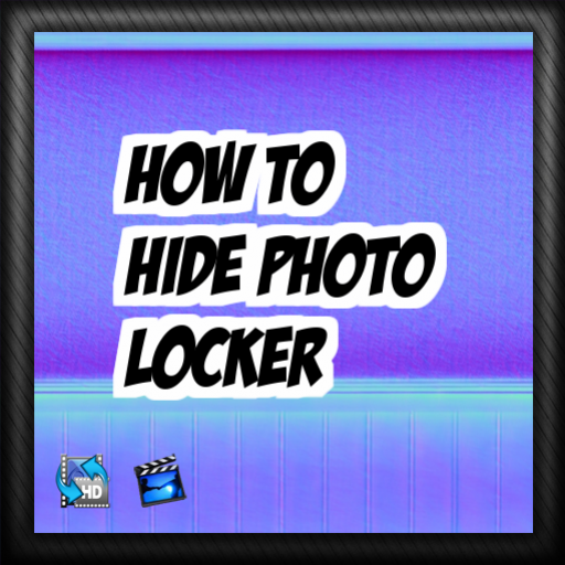 How to hide photo locker Tip