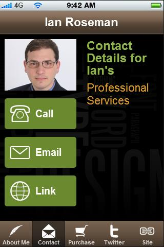 Ian's Consulting Services - screenshot