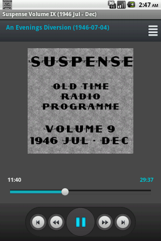 Suspense OTR Vol 9 1946