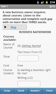 IELTS Listening- screenshot thumbnail