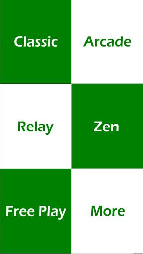 绿钢琴瓷砖 - 逆