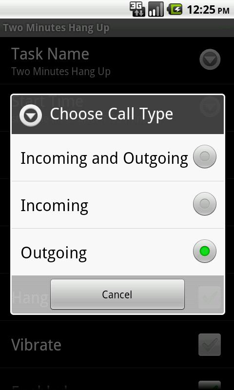 Call Beeper Lite- screenshot