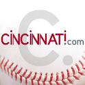 Cincinnati.Com Reds Baseball logo