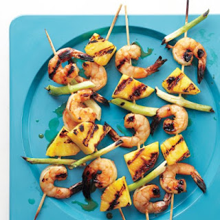 Shrimp-and-Pineapple Skewers