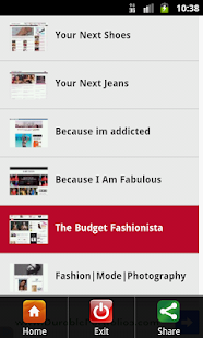 Fashion Blogs USA - screenshot thumbnail