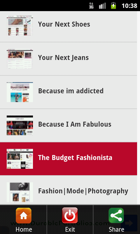 Fashion Blogs USA - screenshot