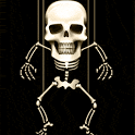 Moving Skeleton icon
