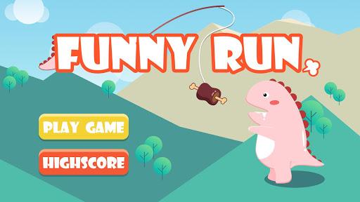 Funny Run: Dragon Fred Running