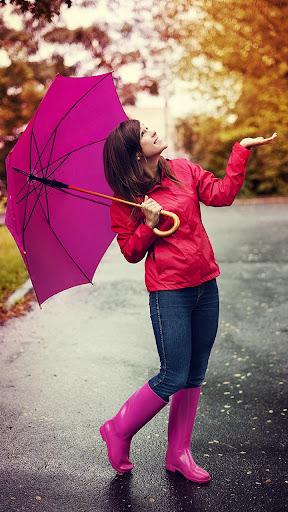 Rain On Photo