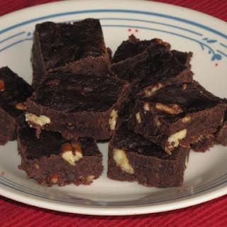 Date Nut Chocolate Fudge.