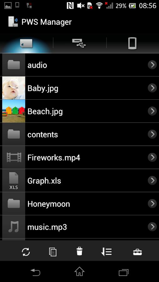 PWS Manager - screenshot