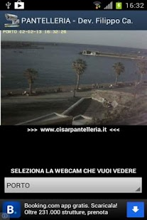 pantelleria webcams Sicilia - screenshot thumbnail