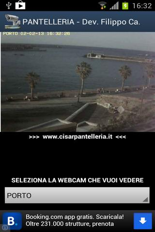 pantelleria webcams Sicilia - screenshot