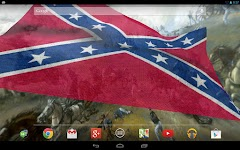 Rebel Flag Live Wallpaper Free Southern Pride