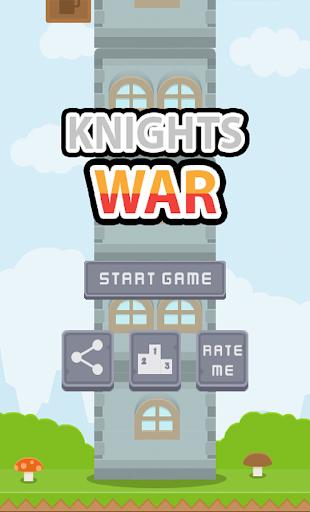 戰士塔 - 樂趣和驚人的躲閃街機騎士戰爭遊戲取寶,獲得的分數