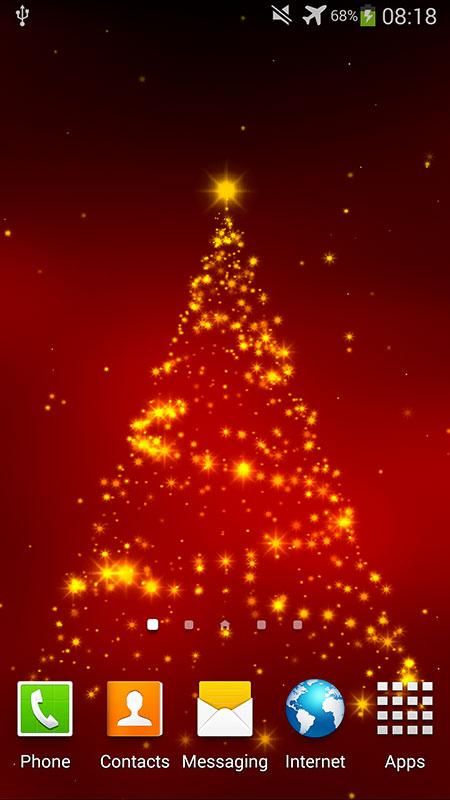 Christmas 3D Live Wallpaper - screenshot