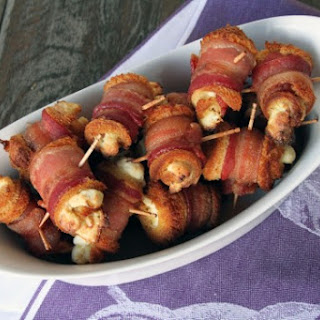 Easy Bacon Cream Cheese Roll-Ups