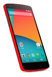 Nexus 5 (32 GB, Bright red) - screenshot thumbnail