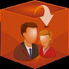 Contato Lista 3D icon