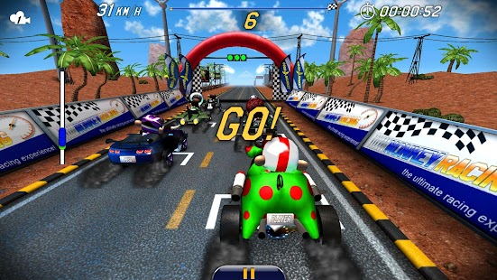 Monkey Racing v1.0.3 MOD Apk + OBB Data [Unlimited Money]