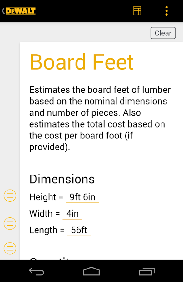 DEWALT® Mobile Pro™- screenshot