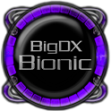 Bionic Launcher Theme Purple icon