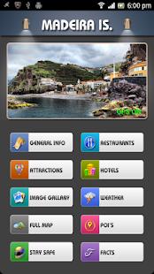 Madeira Offline Travel Guide - náhled