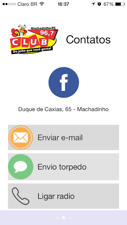 Club FM Machadinho- screenshot