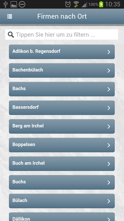 Zürich Unterland Online - ZUOL- screenshot