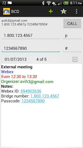 Bridge Call Dialer