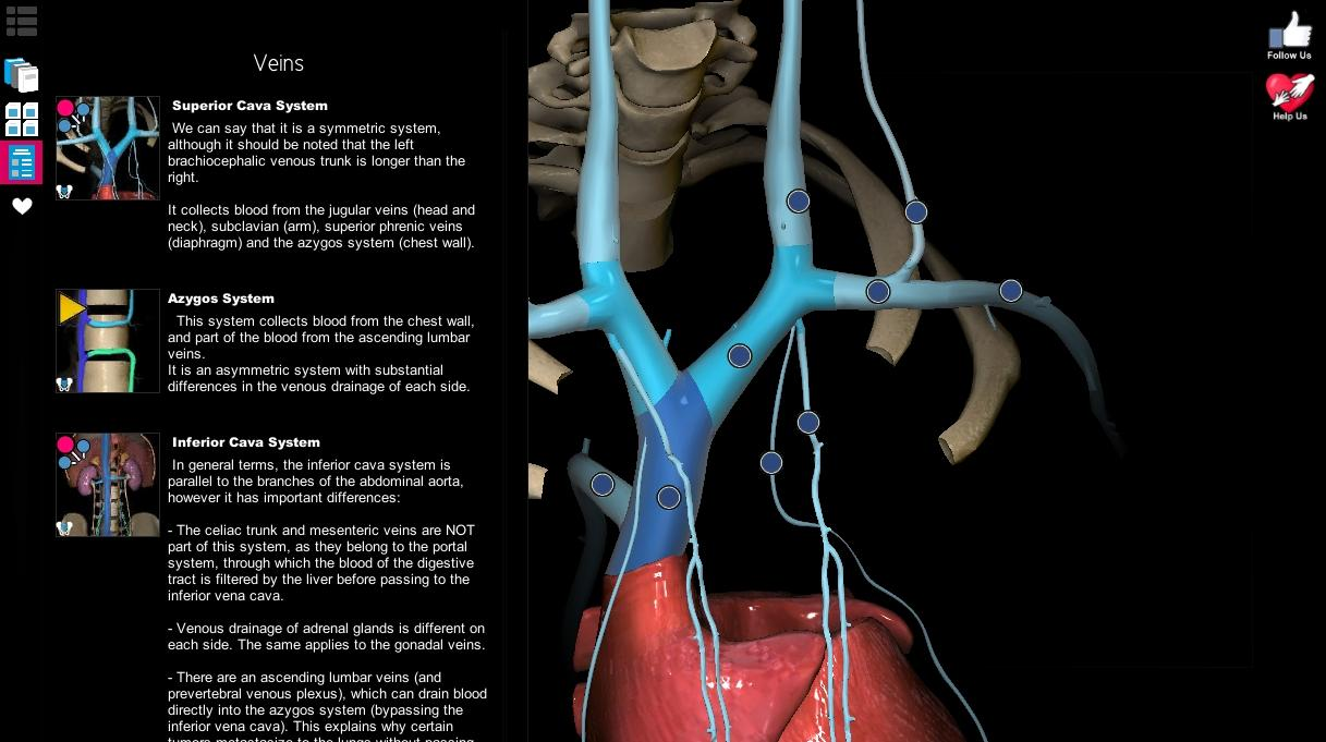 Anatomy Learning - 3D Atlas- screenshot