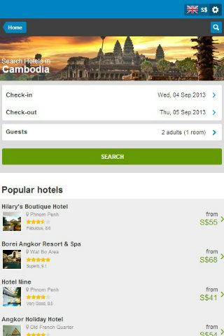 Cambodia Hotel Discount
