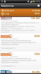 Best Price Ticket- screenshot thumbnail