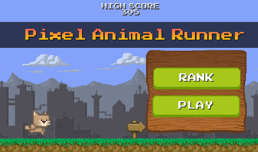 Pixel Retro Runner - Animal