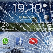 Cracked screen