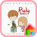 Lovers in Prague dodol theme icon