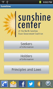 NC Sunshine Center- screenshot thumbnail