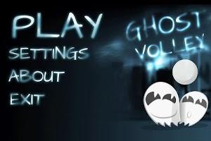 Screenshot of Ghost Volley Lite